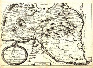 Historische Karte Wein im Weinviertel