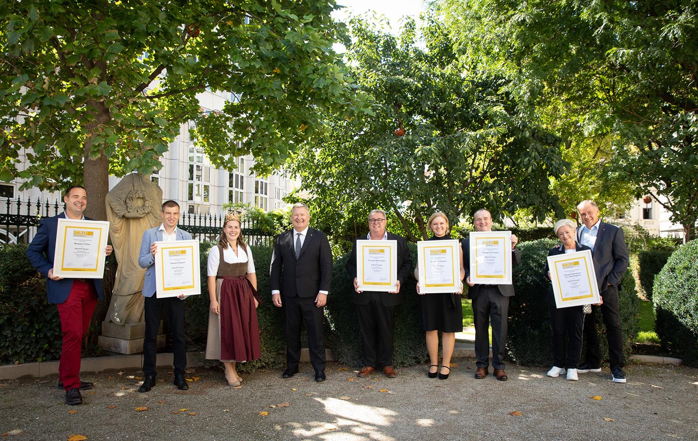 Foto der 6 Weinviertler SALON Sieger