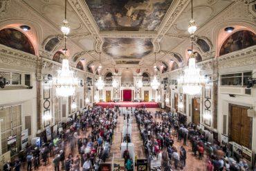 Festsaal in der Wiener Hofburg
